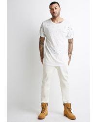 Forever 21 - Natural Clean Wash - Slim Fit Jeans for Men - Lyst