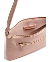 Forever 21 - Pink Pebbled Crossbody Bag - Lyst
