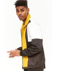 Forever 21 - Multicolor 's Colorblocked Track Jacket for Men - Lyst