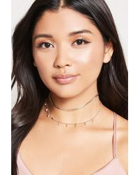 Forever 21 | Natural Braided-chain Choker Set | Lyst