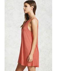 Forever 21 - Multicolor Mini Shift Dress - Lyst