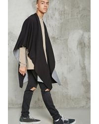 Forever 21 - Black 's Two-tone Shawl for Men - Lyst