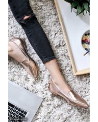 Forever 21 - Multicolor Faux Leather Loafers - Lyst