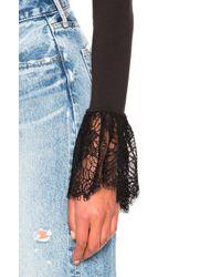 Cinq À Sept - Elara Bodysuit In Black - Lyst