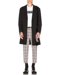 OAMC - Black Saxa Coat - Lyst