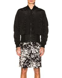 Givenchy - Black Bomber Jacket - Lyst