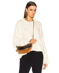 Stella McCartney - Natural Oversized Sleeve Sweater - Lyst