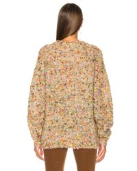 Chloé - Multicolor Bobble Sweater - Lyst