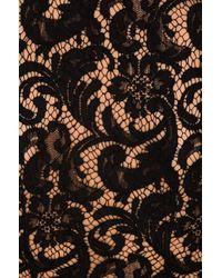 Lover - Black Violet Sheath Dress - Lyst