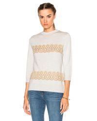 A.P.C. - Gray Playground Sweater - Lyst