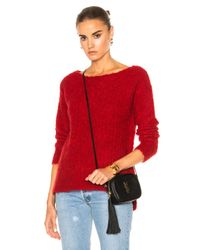 ATM | Red Cozy Pullover Sweater | Lyst