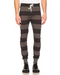 Junya Watanabe | Multicolor Cotton Jersey Border Sweatpants for Men | Lyst