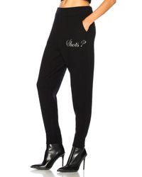 Alexander Wang - Black Shot Sweatpants - Lyst