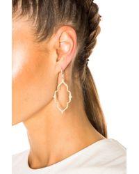 Stone Paris - Metallic Moon River Earrings - Lyst