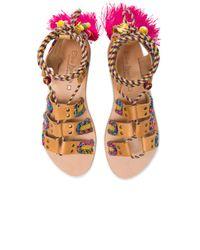 Elina Linardaki - Multicolor 'pisces' Embellished Sandal - Lyst