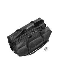 Alviero Martini 1A Classe - 1a Prima Classe - Geo Black Double Compartment Zip Travel Bag - Lyst