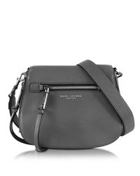Marc Jacobs - Multicolor Recruit Shadow Leather Saddle Bag - Lyst