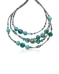 Antica Murrina | Green Elizabeth 1 Murano Glass Necklace | Lyst