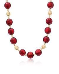 Antica Murrina | Red Frida - Murano Glass Bead Necklace | Lyst
