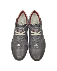 D'Acquasparta - Magnifico Gray Leather Men's Sneaker for Men - Lyst