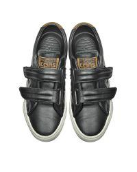 Converse - Pro Leather Vulc Black Strap Unisex Sneaker - Lyst
