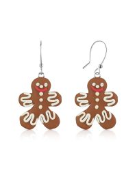 Dolci Gioie | Brown Gingerbread Man Earrings | Lyst