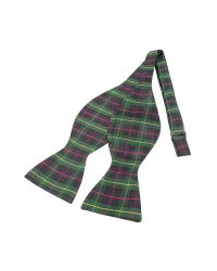 FORZIERI | Green Plaid Printed Silk Self-tie Bowtie for Men | Lyst
