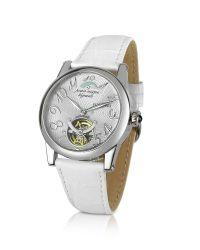 FORZIERI | Bermuda - Women'S White Automatic Mechanical Watch | Lyst