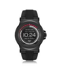 Michael Kors - Access Dylan Black Silicone Smartwatch for Men - Lyst