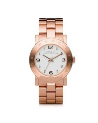 Marc By Marc Jacobs | Pink Amy 36.5mm Rose Stainless Steel Bracelet Watch | Lyst