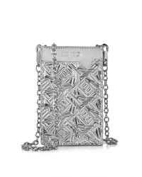 KENZO - Metallic Phone Case On Chain - Lyst
