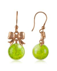 Naoto | Green Drop Earrings | Lyst