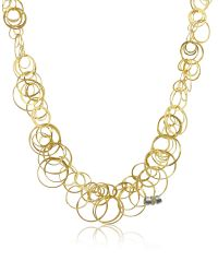 Orlando Orlandini | Metallic Scintille - Diamond 18k Yellow Gold Chain Necklace | Lyst