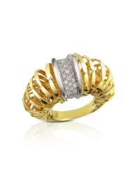 Orlando Orlandini | Metallic Galaxy - Diamond 18k Gold Ring | Lyst