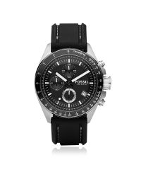 Fossil - Black Decker Stainless Steel Men's Chronograph Watch for Men - Lyst
