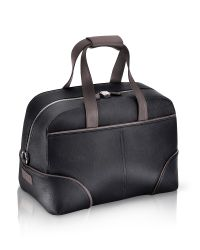 Pineider - 1774 - Black Coated Canvas Travel Bag for Men - Lyst