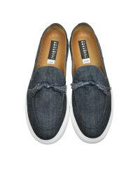 Fratelli Rossetti - Blue Denim Slip On Sneaker for Men - Lyst