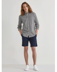 "Frank And Oak Blue The Newport Chino 9"" Short for men"