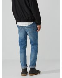 Frank And Oak - Blue The Dylan Slim-stretch Jean In Light Indigo for Men - Lyst