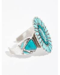 Free People - Multicolor Outback Stone Cuff - Lyst