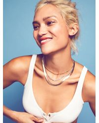 Free People - Multicolor Essential Chain Choker - Lyst