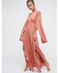 Free People - Multicolor Fantasy Maxi Dress - Lyst