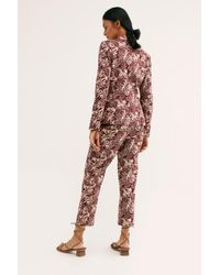 Free People - Multicolor Allover Printed Suit By Scotch & Soda - Lyst