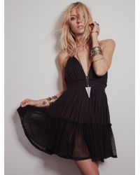 Free People | Black 100 Degree Dress | Lyst