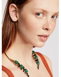 Free People - Metallic Palm Collar - Lyst
