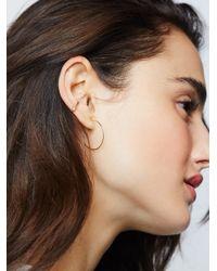 Free People - Metallic 14k Raw Diamond Ear Cuff - Lyst