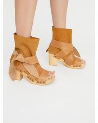 Free People - Multicolor Trilogy Wrap Clog - Lyst
