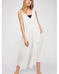 Free People - White Jump Up Jumper - Lyst