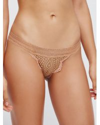 Free People - Multicolor Slow Dance Knicker - Lyst
