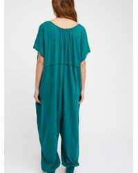 Free People - Green No Bad Days One Piece - Lyst